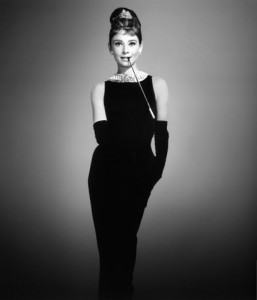 Audrey Hepburn's iconic look, by Givenchy
