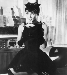 Hepburn in Sabrina - a classic French look