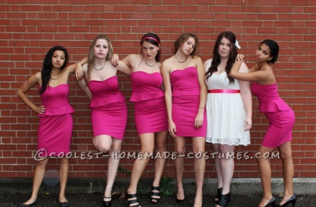 easy-group-costume-for-girls-theres-no-party-like-a-wedding-party-25768-800x525