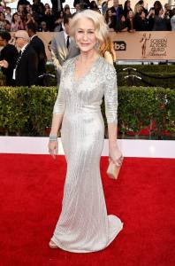 SAG loser but style winner Helen Mirren