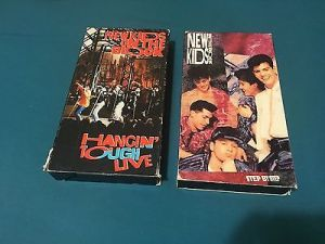 new-kids-on-the-block-vhs-lot-of