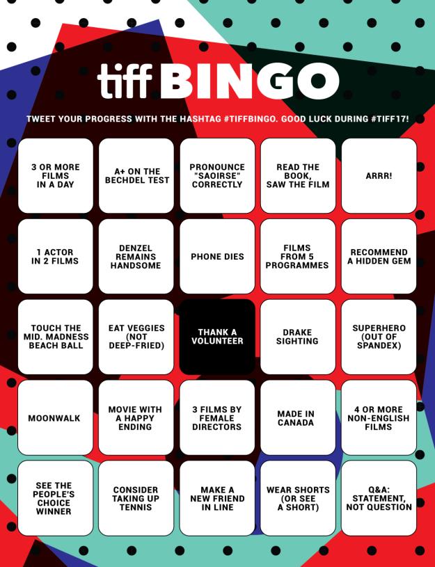 TIFF Bingo