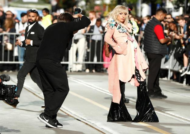 "Lady Gaga arrives on the red carpet for her film ""Gaga: Five Foot Two"" during the Toronto International Film Festival in Toronto"