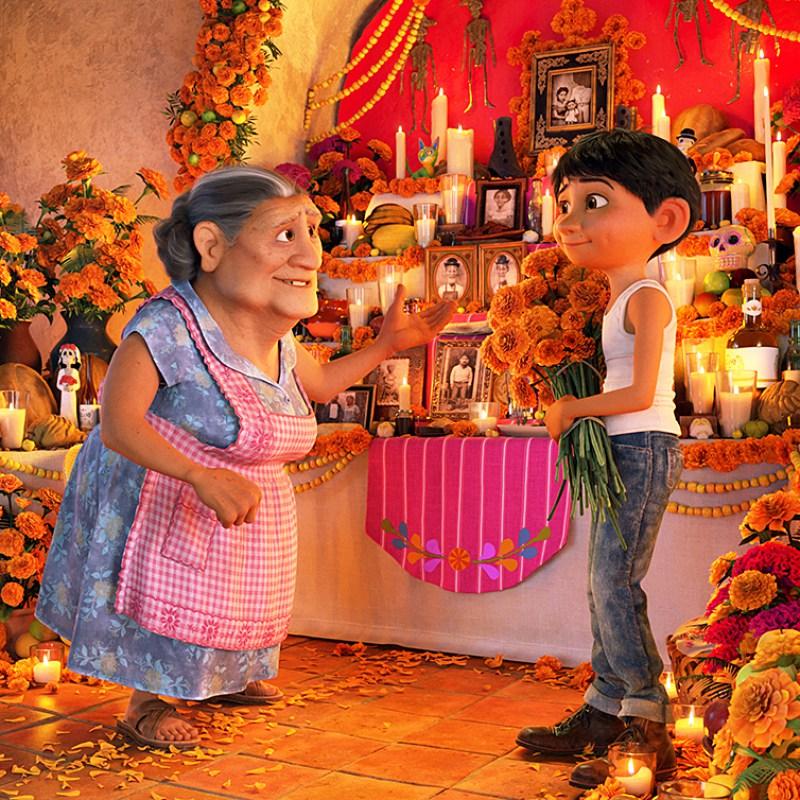 Coco Movie 01 Whole Family